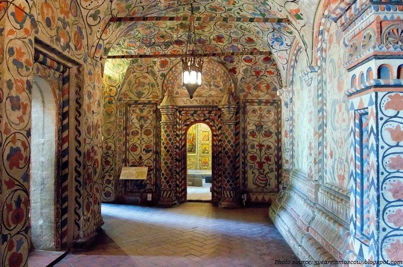 St Basils interior