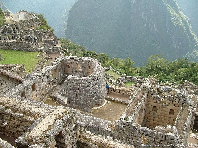 machu picchu temple of the sun