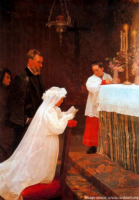 picasso first communion