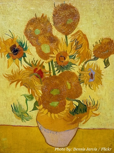 sunflower vincent van gogh