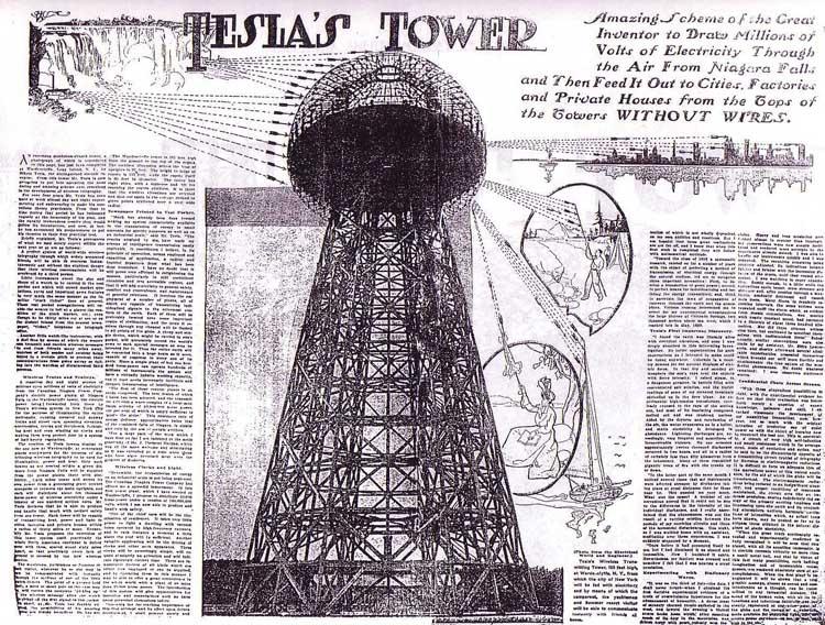tesl tower