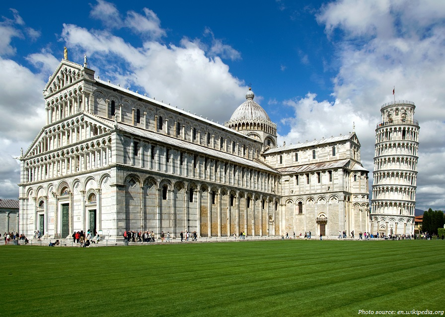 the leaning tower of pisa cathedral