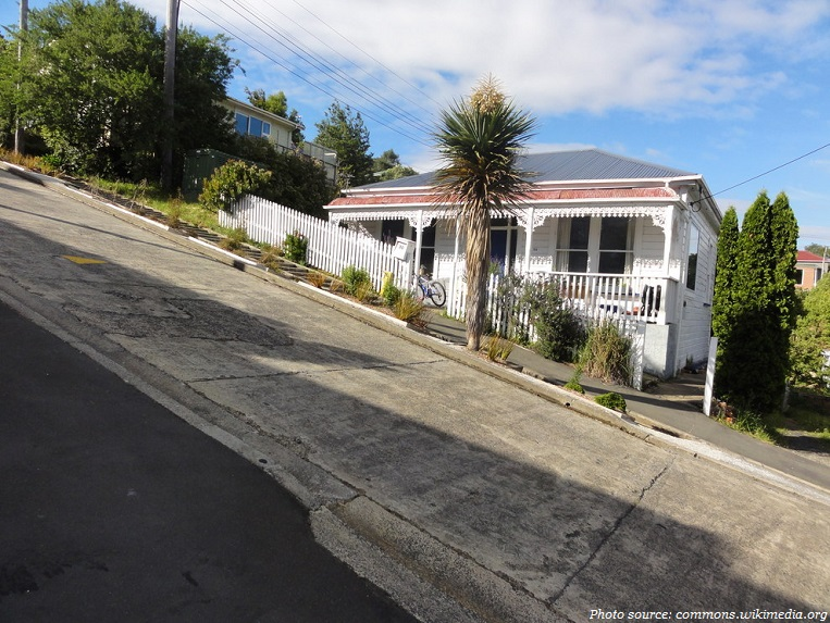 worlds steepest street