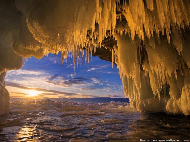 ice cave lake baikal