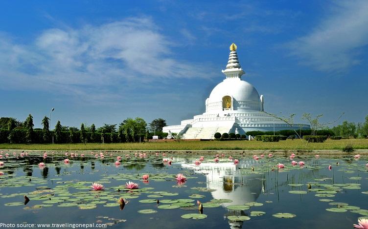 lumbini buddhas born place