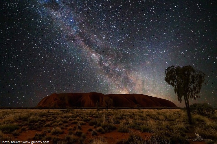 uluru stargazing
