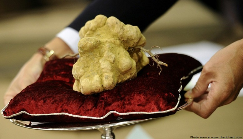 worlds most expensive truffle