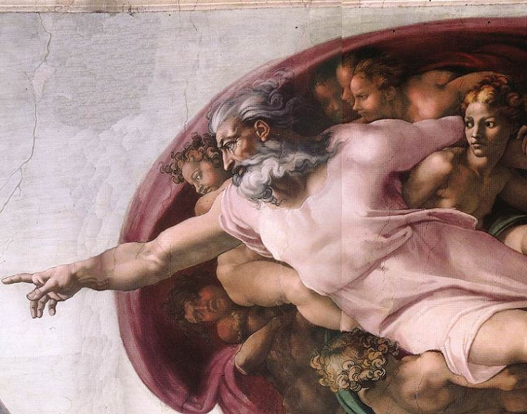 God-michelangelo