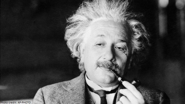 einstein smoking pipe