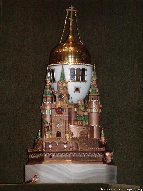 faberge moscow kremlin egg