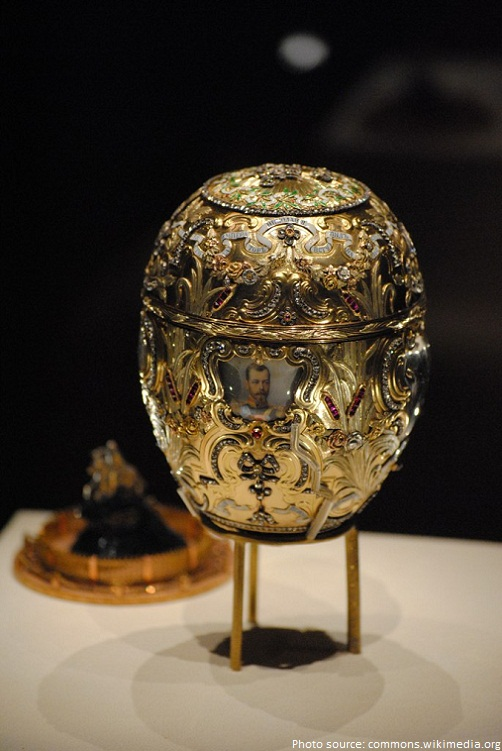 faberge peter the great egg