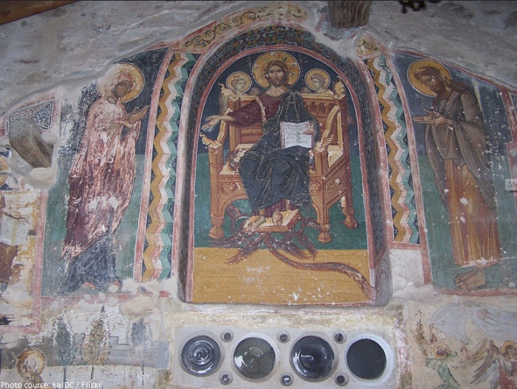 holy monastery of the great meteoron frescoes