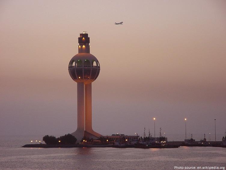 jeddah light tallest lighthouse in the world