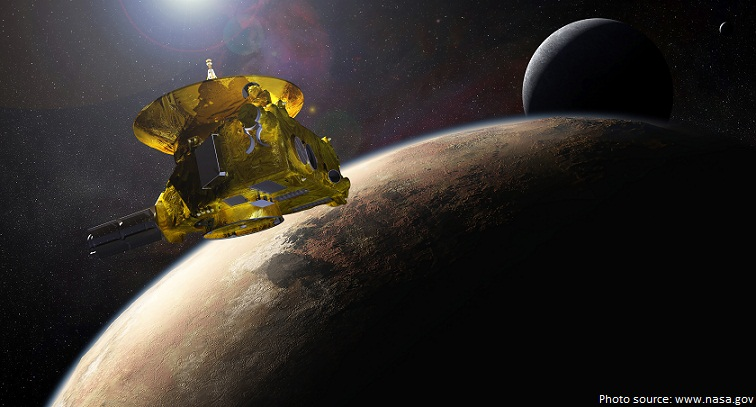 newhorizons at pluto