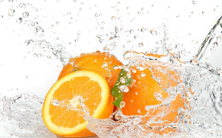 oranges-in-water