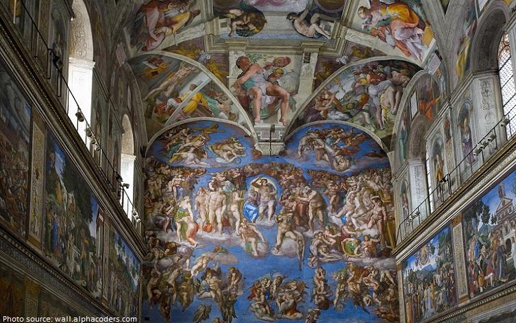 Elegant Sistine Chapel