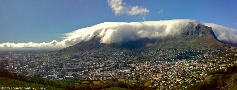 table mountain cloud