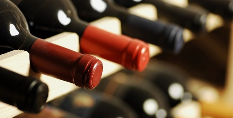 wine stored