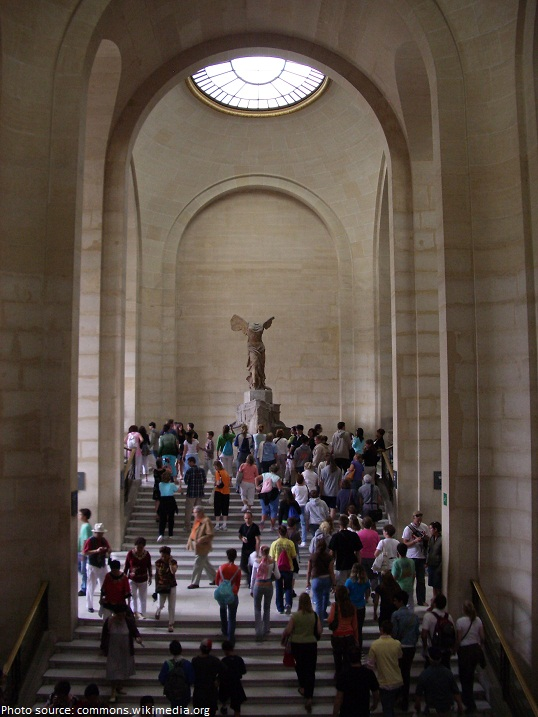 winged victory of samothrace louvre