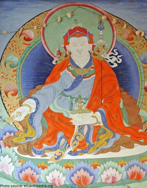 Guru Padmasambhava painting paro taktsang