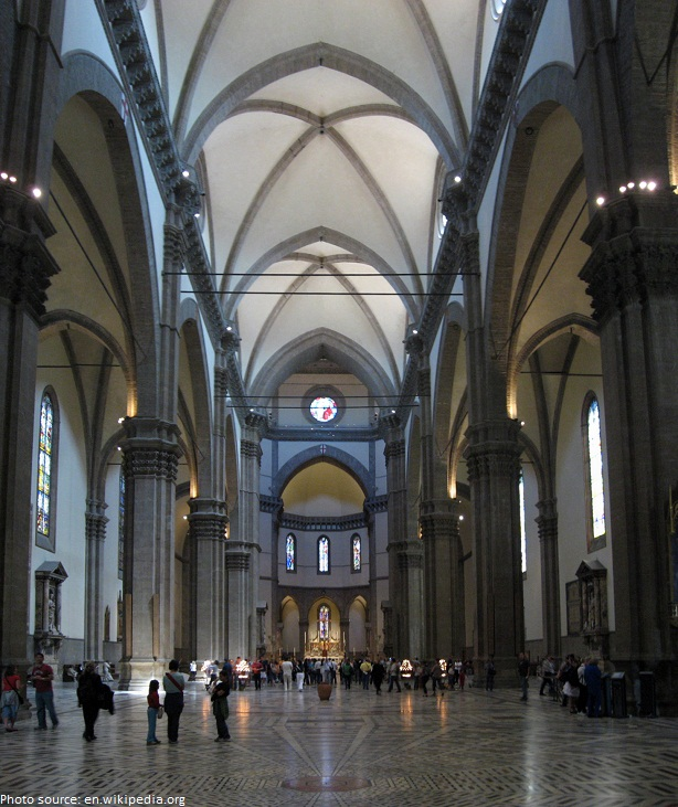 cathedral of florence interior