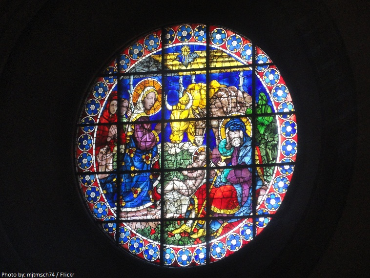 cathedral of florence stained glass windows