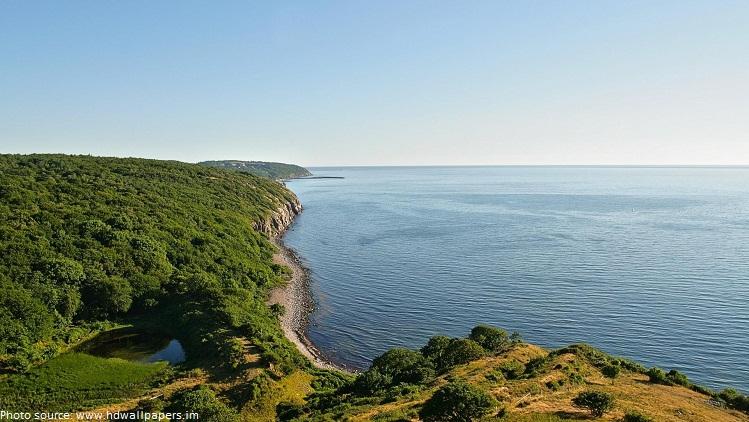 denmark coastline