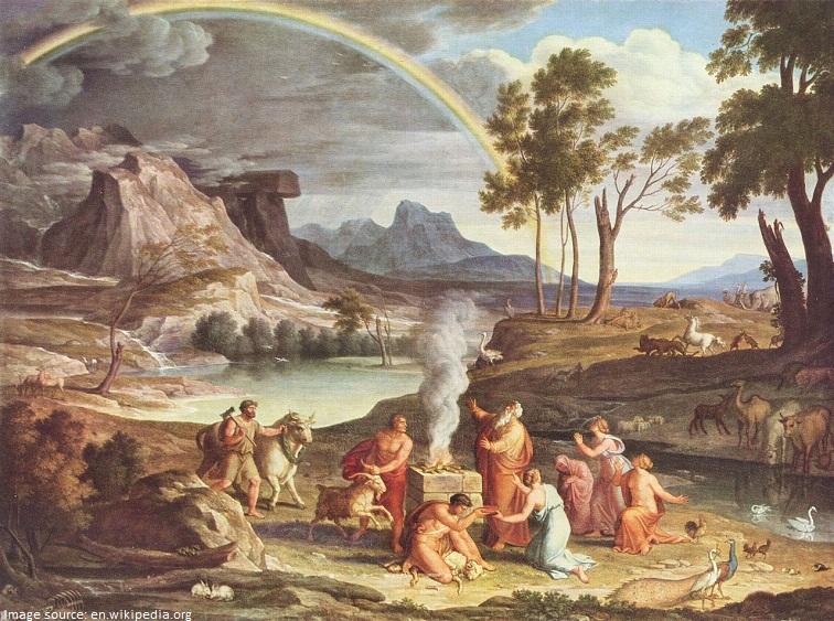 rainbow in the book of genesis