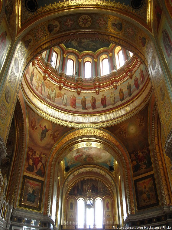 the cathedral of christ the saviour frescoes