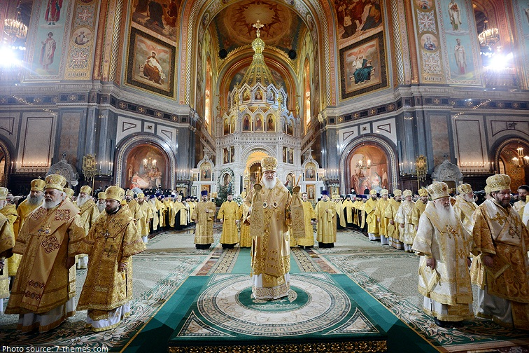 the cathedral of christ the saviour liturgy