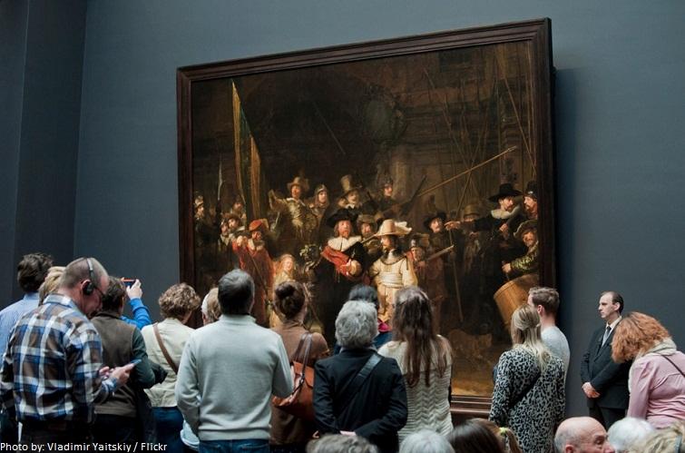 the night watch Rijksmuseum