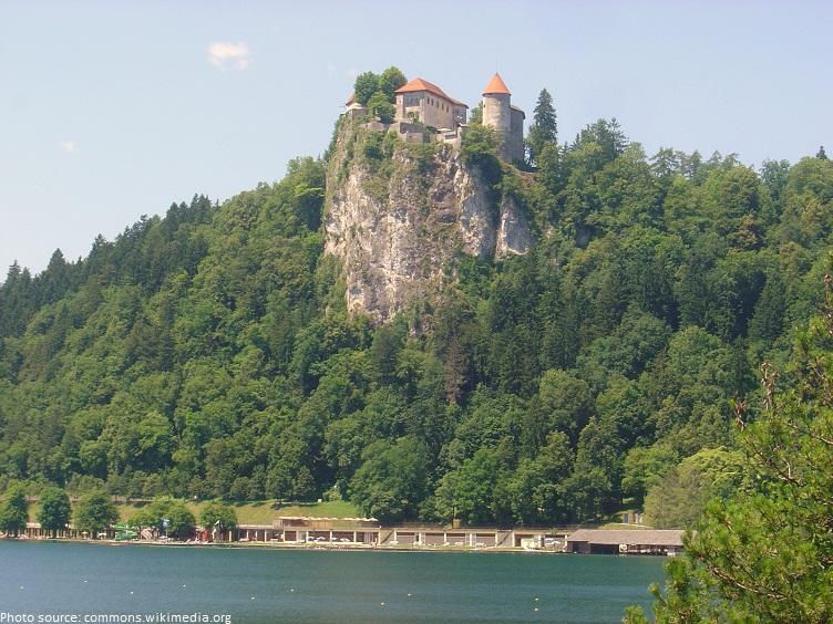 bled lake castle