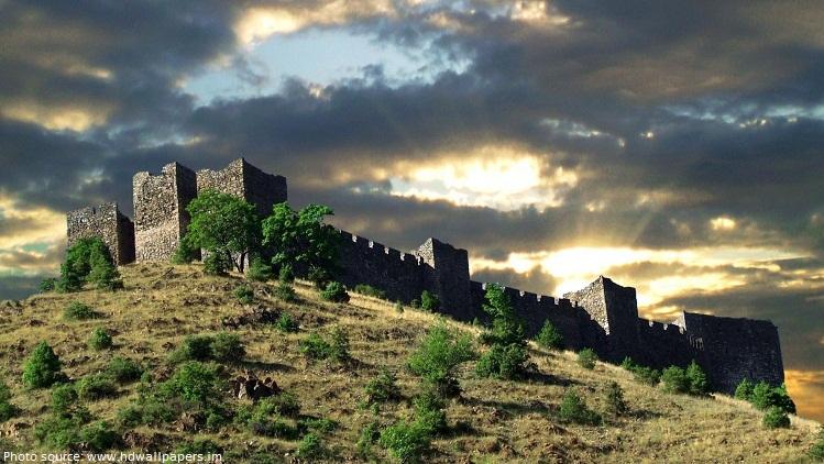 castle in serbia
