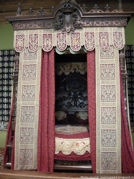 chateau de chambord Francis I bedroom