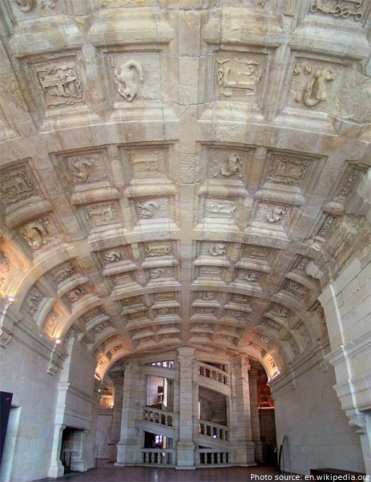 chateau de chambord ceiling