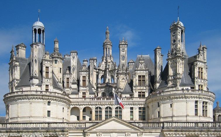 chateau de chambord roof
