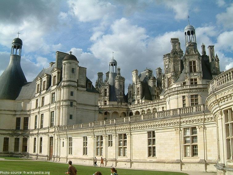 chateau de chambord terrace