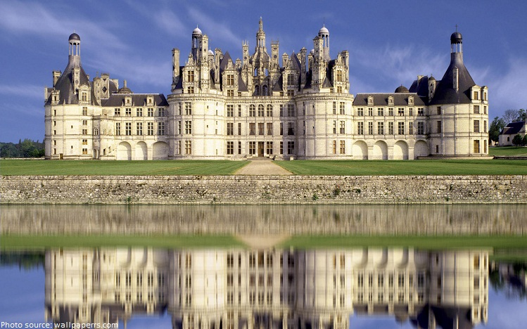 Interesting facts about chateau de chambord just fun facts for Chambre chateau