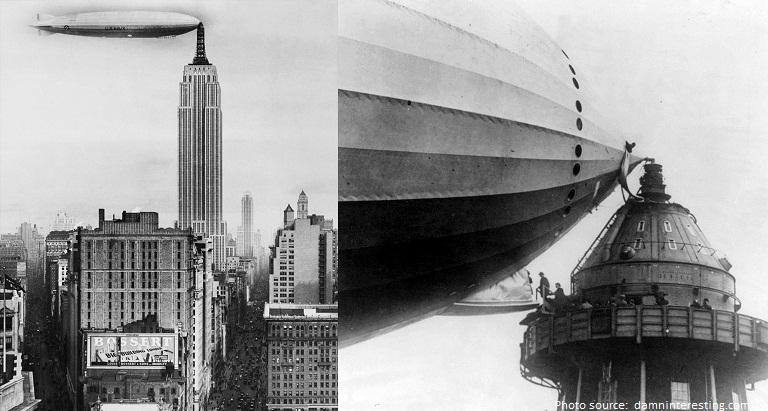 empire state building zeppelin dock