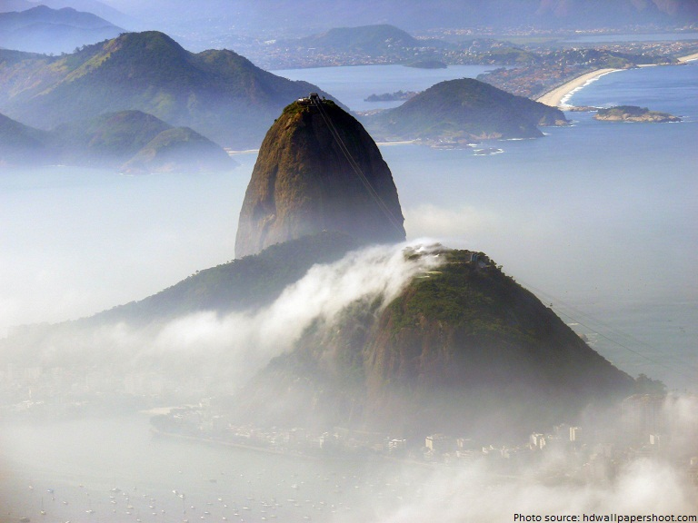 harbor of rio de janeiro sugarloaf mountain