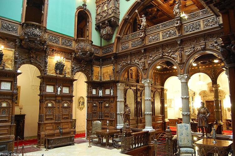 peles castle grand hall