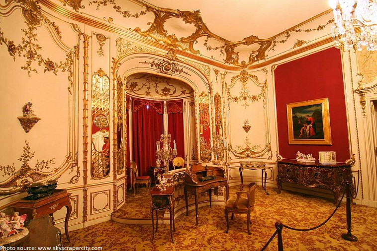peles castle imperial suite