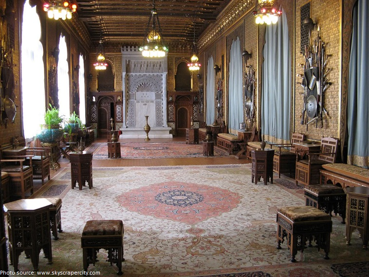 peles castle moorish saloon