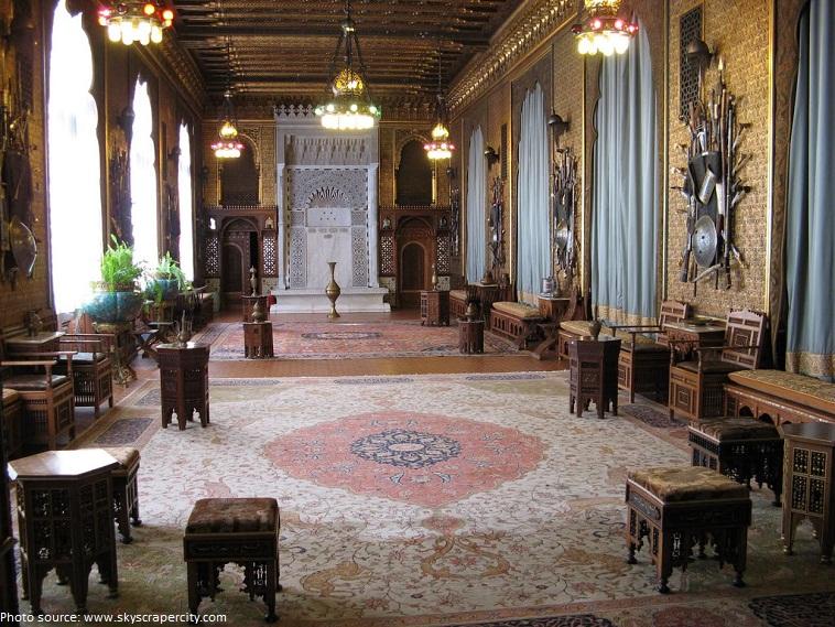 peles castle moorish saloon