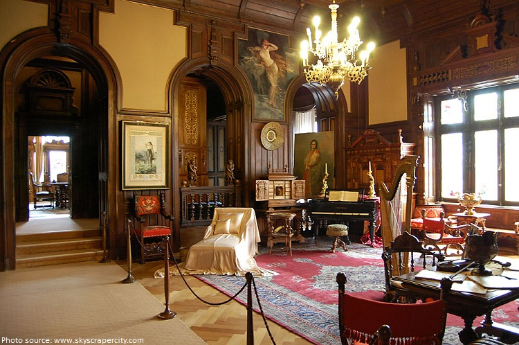 peles castle music room