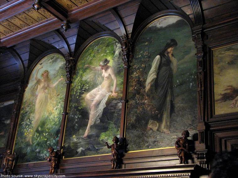 peles castle paintings