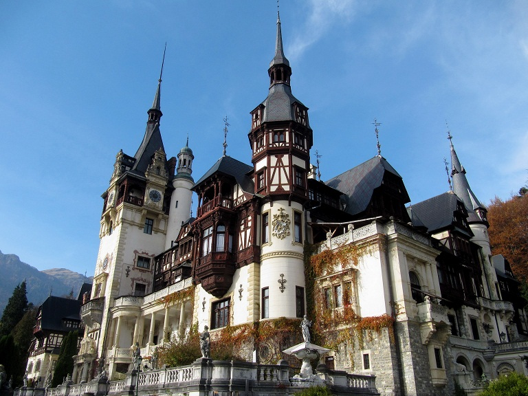 peles castle terrace