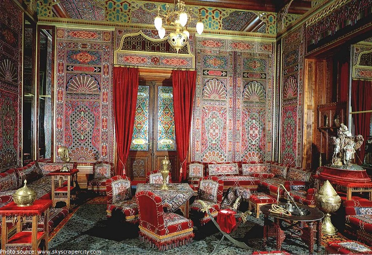 peles castle turkish saloon