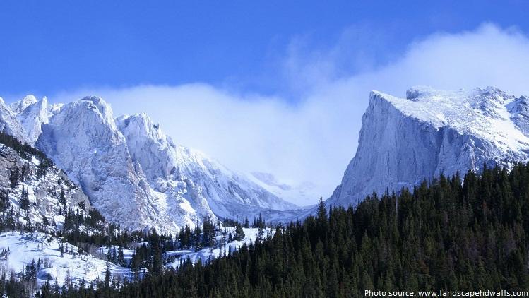 rocky mountain national park glacier