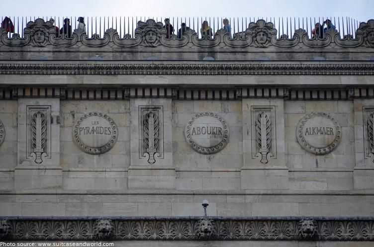 arc de triomphe shields